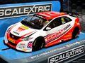Scalextric 1/32 スロットカー C3734◆ BTCC Honda Civic Type R   #25/ Matt Neal    シビックが 遂に登場!◆人気のBTCCモデル!!