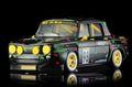 """BRM 1/24 スロットカー   092◆RENAULT R8 GORDINI  #98 BLACK   """"FRENCH EDITION"""" 1/24 最新モデルのR8ゴルディーニの「フレンチ・エディション」★ポップカラーが素敵!"""