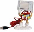 M&M's コレクタブル グッズ  ◆M&M's USB・デスクファン   レッド君が爽やかな風を送る!ギミック付きの可愛いフィギュア★USB接続でそよそよと風が出ます!