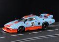 """Racer/Sideways 1/32 スロットカー HC07◆Lancia Stratos Turbo Gr.5  ーSpecial Versionー  """"Gulf Racing"""" #21  限定モデル「ガルフ・リミテッド」★9月末ごろ入荷。予約優先!"""