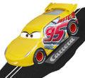 "Carrera Go 1/43 スロットカー 64105 ◆カーズ3/ラスティーズ・クルーズ・ラミレス. ""Rust-eze Cruz Ramirez"" Disney/Pixar Cars 3  ★レースマシン仕様のラスティーズ・クルーズが再入荷!"
