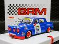 """BRM 1/24 スロットカー   079◆RENAULT R8 GORDINI  #55 BLUE """"MICHELIN"""" EDITION 1/24 最新モデルのR8ゴルディーニのミシェラン・エディション!★再入荷完了!お薦めモデル!"""