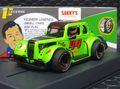 Pioneer 1/30 スロットカー P082◆LEGENDS RACER,  '34 FORD COUPE,  Green#44.  最新の'34 フォード/レジェンドレーサー。★入荷済み 好評出荷中!
