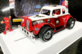 "Pioneer 1/30 スロットカー P118◆""Santa"" Legends Racer  '34 Ford Coupe,  Candy Cane Red/White.  '34 フォードクーペ ★X'masに""サンタ""スペシャルバージョン入荷!"