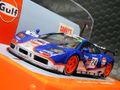 "scalextric1/32 スロットカー C3969◆ McLaren F1 GTR  ""GULF-RACING"" #24/Mark Blundell, Ray Bellm, Maurizio Sandro Sala  24hr LeMans 1995,   人気爆発・ガルフマクラーレン!◆再入荷完了です"