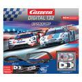 "Carrera digital132 コースセット 20030012◆GT Face Off  ""GTフェイス オフ"" set.     ポルシェ 911 RSRとフォードGTの 2台入りフルセット 全長8m 超豪華ロングコース!★でっかいデジタルセットが入荷!"