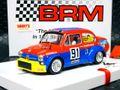 BRM 1/24 スロットカー  BRM-087◆FIAT ABARTH 1000 TCR ARMI BERETTA  #91 Brescia Corse Coppa Carri Monza 1973  1/24スケールの逸品!★最新モデル、フィアットアバルトが登場!◆再入荷!