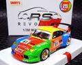"Revoslot 1/32 スロットカー  RS0018◆Porsche 911 GT2.   #61 ""Krauss Race"" 24H Le Mans 1998   1/32最新モデル アルミ軽合金製シャシーを採用! ★再入荷"