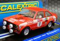 Scalextric1/32 スロットカー   C3483◆Ford Escort MkⅡ #1/Roger Clark Winner of Lombard RAC Rally, Wales, 1975   入荷済み★ライト点灯モデル!
