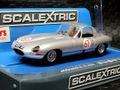 Scalextric 1/32 スロットカー   C3952◆ Jaguar E-Type  #67/Peter Lindner and Peter Nocker.  Nürburgring/1000km 1963  前後ライト点灯・ハイディティールモデル◆最新モデルが入荷完了!!