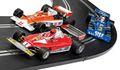 "Scalextric 1/32 スロットカー C4189A ◆ ""1976 British GP Triple Pack"".  McLaですよren M23,  Ferrari 312T,  Tyrrell P34. F1の名車・豪華3台セット限定ボックス◆F1/トリプルセット!4月後半に再入荷確定。ご予約必須ですよ"