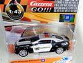 """Carrera-Go スロットカー 1/43  64031 ◆CAMARO """"SHERIFF PATROL""""  最新カマロのパトカー! カレラGoは1/32のコースでそのまま走れます☆屋根のパトライトが光るよ!"""