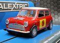 Scalextric 1/32 スロットカー C3747◆Mini Cooper S  #5/Graham Hill & Maxwell Boyd RAC Rally 1966   ハイディティールモデル★グラハム・ヒルが乗ったミニですって!
