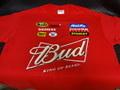 """NASCAR/公式オフィシャル商品  ◆#9 ケーシー・ケイン """"BUD""""  NASCAR Tシャツ XL-サイズ    特選商品★#9 ケーシケインのバド・レーシング!"""