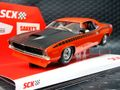 SCX 1/32 スロットカー U10365X300-O◆Plymouth Cuda 1970 「Orange」  ―500 Limited Edition/ Serial No's―  レア!★オレンジも入荷済み!