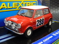 Scalextric 1/32 スロットカー  C3485◆Mini Cooper #288/Rauno Aaltonen & Tony Ambrose   Monte Carlo Rally 1963   ライト点灯・ハイディテールモデル  入荷しました!★正規輸入品・最新!!
