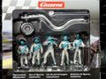 Carrera 1/32 コースサイド アクセサリー  21133◆ピットクルー /フィギュア 5体SET 給油ホース&ロリポップ 付き   Pit Cruw  Mechanics ★シルバークルー 貴方のサーキットに!