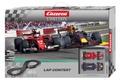 Carrera Evolution 132 コースセット 20025233◆Lap Contest set 「ラップ コンテスト」set    F1モデル2台入りフルセット 全長4.5m  超お買い得セット!★待望のアナログset 新製品!