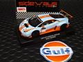 """RACER / SIDEWAYS 1/32 スロットカー  SWCAR01C◆LAMBORGHINI HURACAN GT3   """"GULF Racing"""" Special -Edition + Gift (おまけ付き!)  ガルフカラーのウラカンGT3◆お待たせしました再入荷!"""