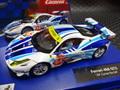 Carrera Digital 132 スロットカー  30715◆Ferrari 458 Italia GT2 AF Corse 54 アナログ・デジタル両用!ライトも点灯! ★2015 夏の新製品!◆入荷しました!