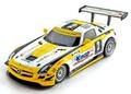 """Ninco 1/32 スロットカー   55093◆Mercedes-Benz SLS #2 """"Knap"""" Dubai 2013  Ninco-1 NC9搭載!◆"""