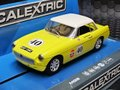 Scalextric 1/32 スロットカー C3746◆MGB  #40 McCarthy Motorsport,  Thoroughbred Sports Car Series  黄色いMGB!ライト点灯モデル◆再入荷!!
