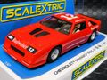 Scalextric 1/32 スロットカー C4073◆Chevrolet Camaro IROC-Z - Red  ハイディティールモデル◆新製品・入荷!