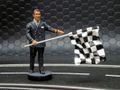 "LeMans miniatures 1/32 フィギュア   FLM132057M◆レオン/レースディレクター Leon, Race director/ "" public agitators of checkered flags ""   高級レジン製★お勧めの逸品!"