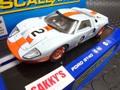 """scalextric1/32 スロットカー   C3325◆Ford GT40 """"Gulf""""  #2 Daytona-24    U.S.A.限定モデル メーカー絶版★待望の再入荷!"""