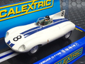 Scalextric 1/32スロットカー  C3308◆Jaguar D-Type  Sebring 12hr 1956  Briggs Cunningham Team Hawthorn & Tittterington #8   ライト点灯★ニューモデル!