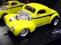 Carrera 1/32 スロットカー ◆41 WILLYS COUPE /HighParfomance2 ホットロッド!!   日本未発売★(ヘッドライト・テールランプ点灯)