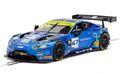 Scalextric 1/32 スロットカー C4076◆Aston Martin GT3  2019  TF Sport British GT. 前後ライトも点灯!◆アストンマーチンGT3入荷!