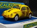 """scalextric 1/32 スロットカー  C4045◆ VW Volkswagen Beetle """"Rusty Yellow""""   ラットスタイルの黄色いビートル登場!★入荷済みです!"""