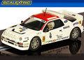 Scalextric 1/32 スロットカー C3305◆Ford RS200 Group B Rally Costa Brava 1986  #4/A.Zanini & J.Autet     最新商品★ライト点灯・ハイディテールモデル!