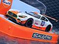 """scalextric1/32 スロットカー C3853◆ Mercedes AMG GT3  """"Gulf""""  人気集中のガルフカラーのAMG-GT3 前後ライト点灯・ハイディティールモデル ★人気モデル再入荷!!"""