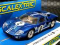scalextric1/32 スロットカー C3916◆ Ford GT40 MKII 1967 #2  12hr of Sebring, 新製品◆再入荷しました。ご注文をどうぞ!!