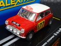 "Scalextric 1/32 スロットカー  C2807◆Morris Mini Cooper, ""Aaltonen"" #177  Monte Carlo Rally. ーScalextric Classic ー   ライト点灯・ハイディテールモデル★このミニはレアですよ!"