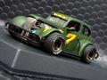 "Pioneer 1/30 スロットカー P078◆ '37 Chevy Sedan. Legends Racer #7 ''Green""  '37 シボレーセダン★入荷完了!オリーブグリーンもいい!"