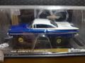 Auto World 1/64 スロットカー   ★'59 Chevrlett Impalla /Blue HOスケール ★只今セール特価!