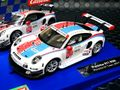 "Carrera Digital132 スロットカ- 30915◆Porsche 911 RSR  ""Porsche GT Team"" #911.  ヘッドライト、テールランプ点灯 ★便利なアナログ・デジタル両用。"