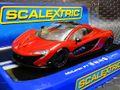 Scalextric 1/32 スロットカー  C3643◆ McLaren P1  ---CandyRed--- ハイディティールモデル★前後ライト点灯!