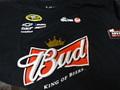 "NASCAR/公式オフィシャル商品  ◆#29 Kevin Harvick ""BUD""  NASCAR Tシャツ XL-サイズ       特選商品★#29 ブラックのバドワイザーが超特価!"