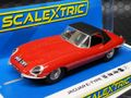 scalextric1/32 スロットカー  C4032◆Jaguar E-Type - Red 848CRY   ジャガーE-タイプの 新製品◆2019新製品!入荷ました!!