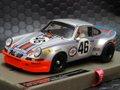 LeMans miniatures 1/32 スロットカー  132053/47M◆Porsche Carrera RSR  #46/ Gijs van Lennep 、Herbert Mueller  4th place at Le Mans 1973.  '73年ルマン出場車◆絶版・マルティニ・ポルシェRSR、お薦めの商品!