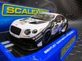 Scalextric 1/32 スロットカー  C3595 - M-SPORT BENTLEY CONTINENTAL  #17/Rembert Berg & Steven Kane  BRITISH GT3 2014  ハイディティールモデル★前後ライト点灯!