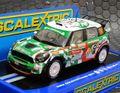 Scalextric 1/32 スロットカー C3523◆ BMW MINI COUNTRYMAN  WRC Rallye Monte Carlo 2012  #14/P.Nobre 、E.Paula 新商品・ハイディrティールモデル★ライト点灯!