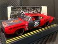 """Pioneer 1/32 スロットカー  P022◆Dodge Hemi Charger """"Red Devil"""" Street Racer. ワイルドなスタイルの「レッドデビル」★オススメ!"""
