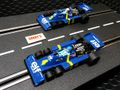 Scalextric 1/32 スロットカー C4084A ◆Tyrrell P34.  #3/Jody Scheckter & #4/Patrick Depailler. Swedish GP/F1 1976   - Limited Edition/ 3000-  2台セット限定ボックス★待望の再入荷完了!