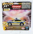 """Carrera-Go スロットカー 1/43  64174◆ Porsche 911 """" Polizei"""" ポルシェ911ポリスカー パトライトがピカピカするよ!◆1/32のコースでそのまま走れます!"""
