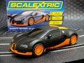 Scalextric 1/32 スロットカー  c3661◆Bugatti Veyron  -Black & Orange- 2015年夏・話題の新製品! ★計量/Sレジスタントモデル!!